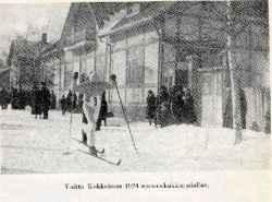 """Voitto Kokkolassa 1924 """"pannukakkuradalla"""""""